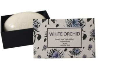 White Orchid Soap 80gms