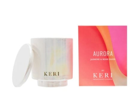 Jasmine & Rose Oasis Keri Soy Candle Aurora Collection 300g