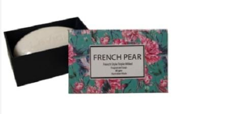 French Pear Soap 80gms