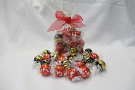 20 pieces assorted Lindt Chocolates in a bag