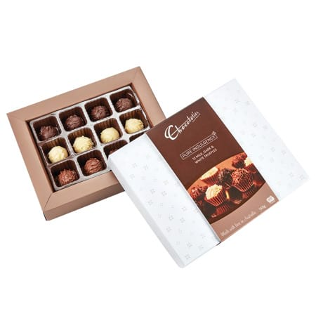 Bear and 20 pieces assorted Lindt Chocolates