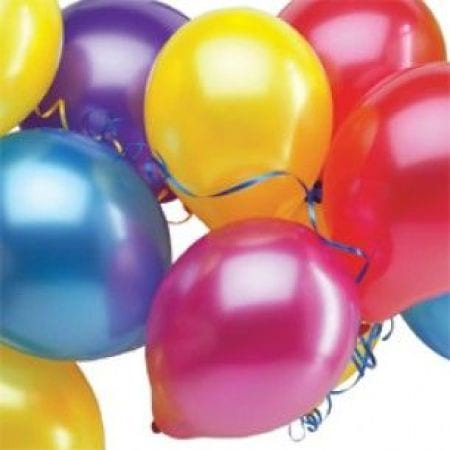 Latex Balloons Colourful $5.00 each - out of stock