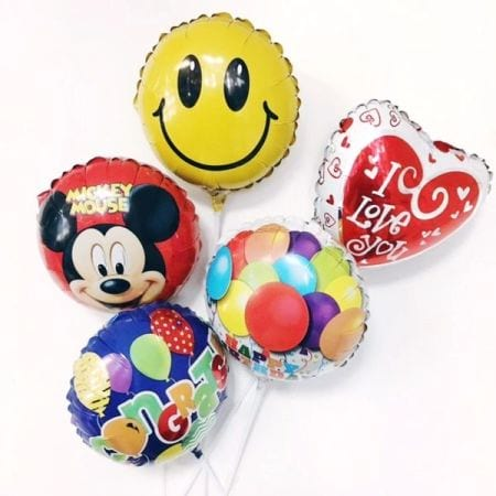 Helium balloons disney characters 43cm - $12.00 Each