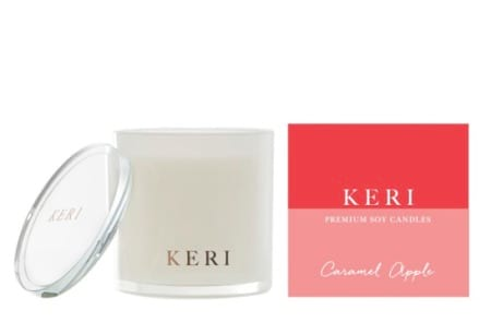 Caramel Apple Keri Luxury Soy Candle Indulgence Jar 410g