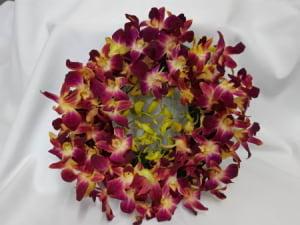 30cm Wreath Singapore Orchids