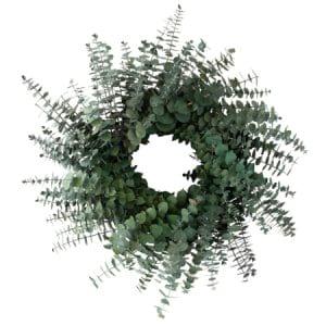 30cm Wreath Eucalyptus Leaves