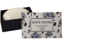 White Orchid Soap 80gms