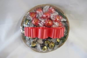 30 Pieces Assorted Lindt Chocolates in a gift basket