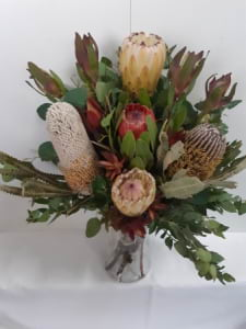 Native Blooms in a Vase