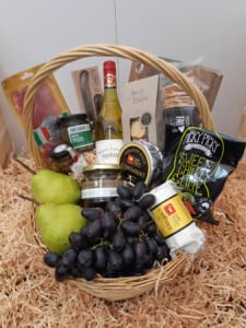 The Cheese and Fruit Platter Basket