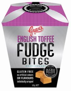 Gran`s English Toffee Fudge Bites Gluten Free 140g