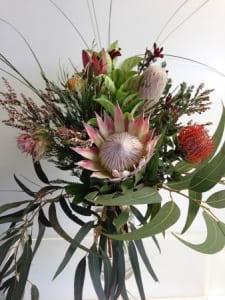 King protea native bouquet
