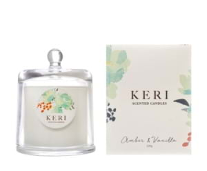 Keri scented Candles Amber and Vanilla 220g